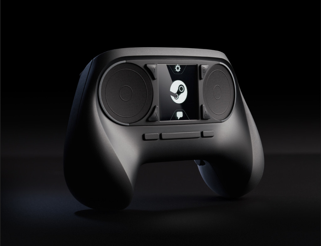 The new Steam Controller prototype.