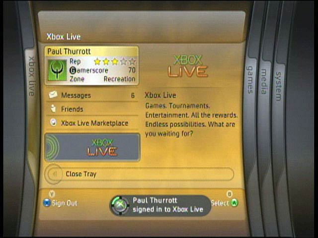 Original Xbox Interface – HD Wallpapers