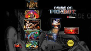 Pinball Arcade Menu