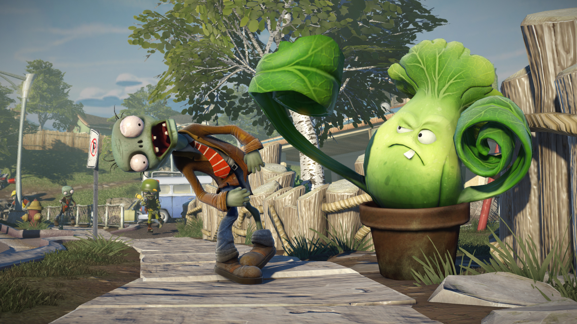 Plants vs zombies garden warfare review smashpad - Plants vs zombies garden warfare 2 review ...