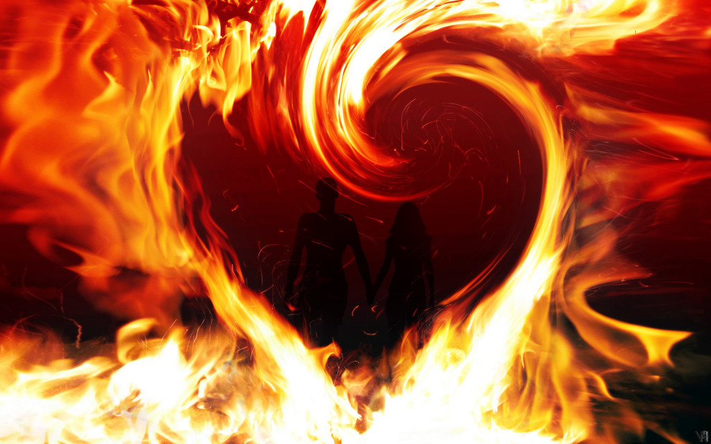 love-in-fire