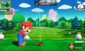 It's Mario Golf, all right!
