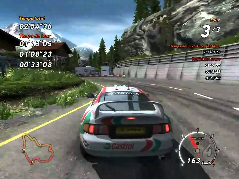 Alpine is definitely Sega Rally 3's standout course.