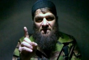 Doku Umarov, a famous Chechen terrorist.
