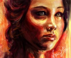 katniss___the_girl_on_fire_by_vivsters-d4vnz46