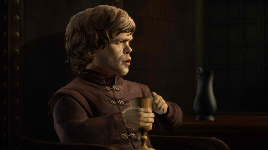 Emmy award-winning actor Peter Dinklage's Tyrion Lannister is as witty as ever, but he hasn't said anything quote worthy in the game yet.