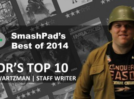 Josh's Top 10 Games of 2014