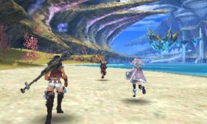 While it probably would've been better as an HD remake on the Wii U, it's pretty damn impressive that the New 3DS could handle a game of this size.