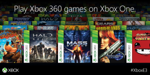 Xbox One Backwards Compability