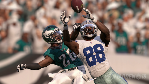 Receivers can now make possession, RAC, or aggressive catches just by holding a button.