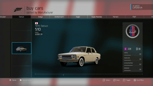 Finding a car in Forza 6 is now much easier.