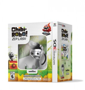 The initial shipment of Chibi-Robo! Zip Lash have an amiibo bundled with the game.