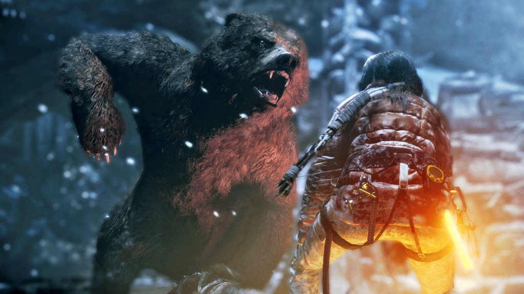 You're in for a surprise if you thought the wolves in Tomb Raider were trouble.