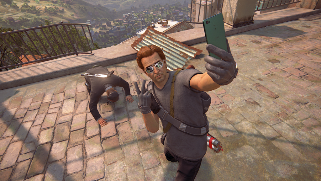 Yep.  Taking a selfie in front of somebody you just killed. #TooSoon