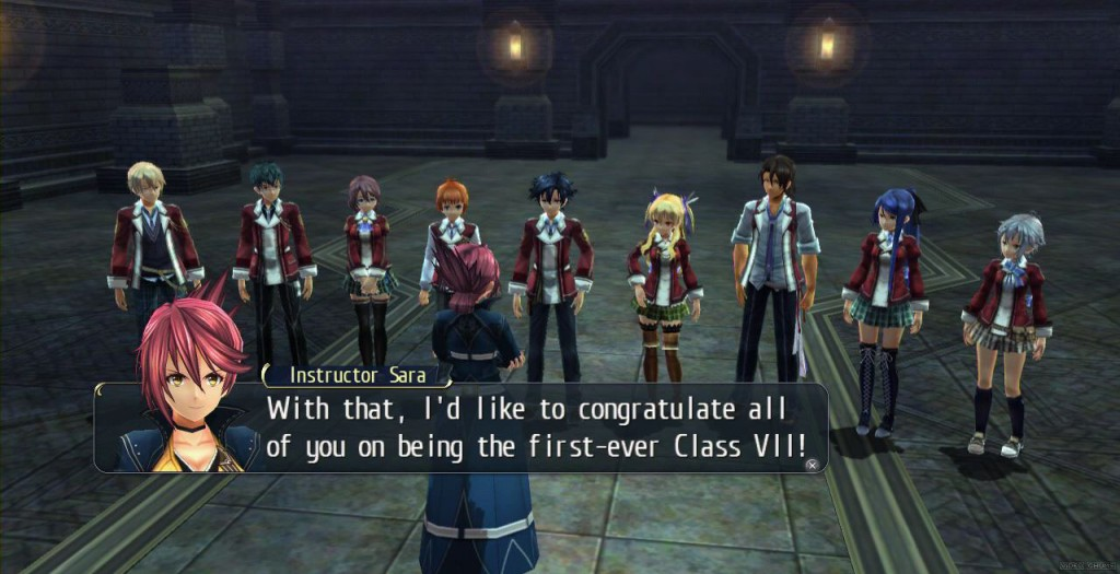 Thors Military Academy's Class VII. They're more important than any other class because you get to use them.
