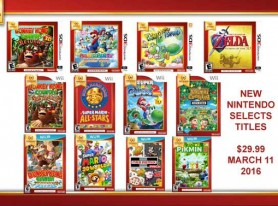 New Nintendo Selects titles unveiled?