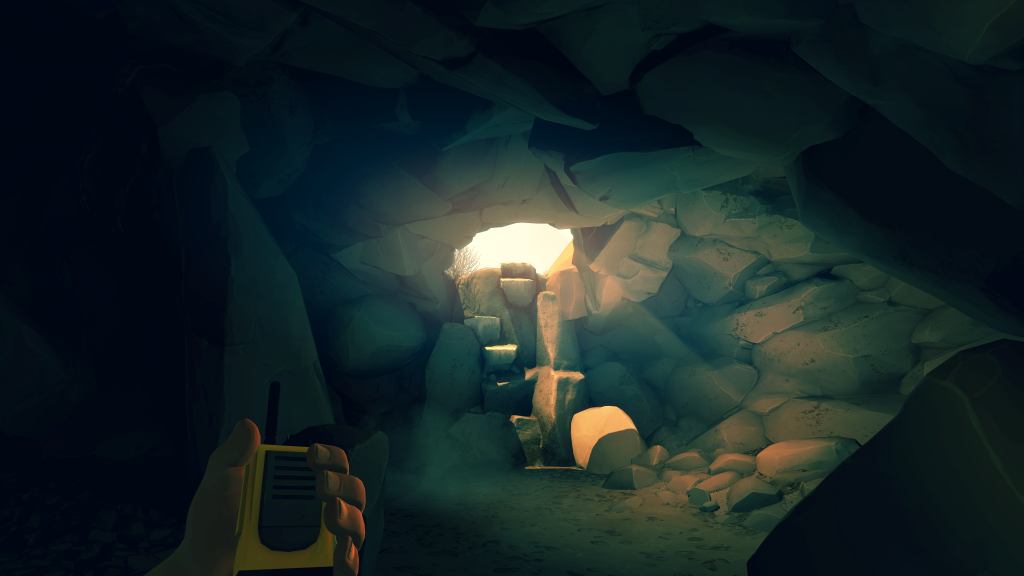 ♪ Hey there, Delilah, I got inside a cave, what do I do? ♪