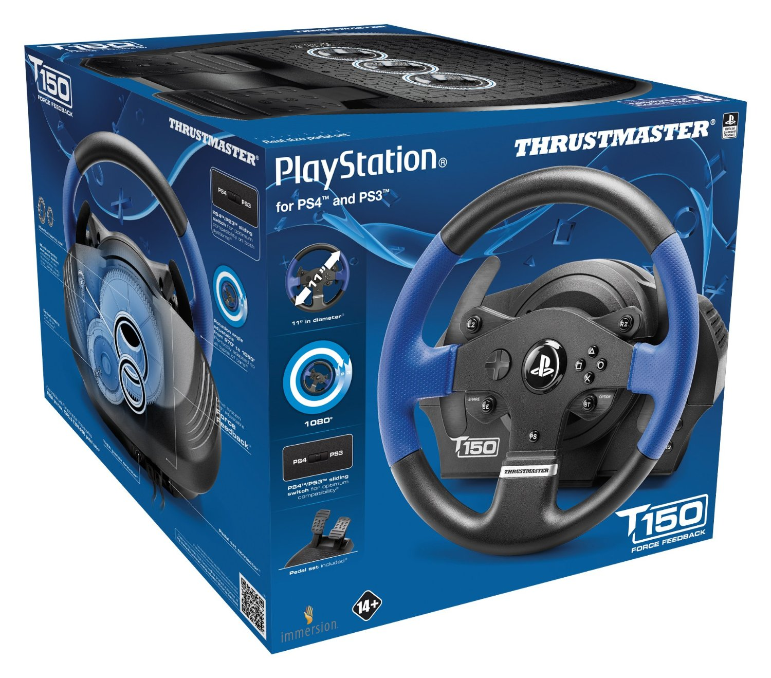 Inside this box is the racing peripheral that just might ween you off of gamepads for all your driving needs.