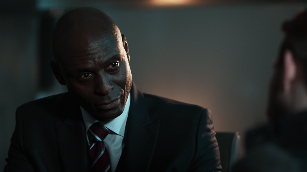Lance Reddick did a heck of a job playing Martin Hatch. Too bad his character was hardly anybody important.