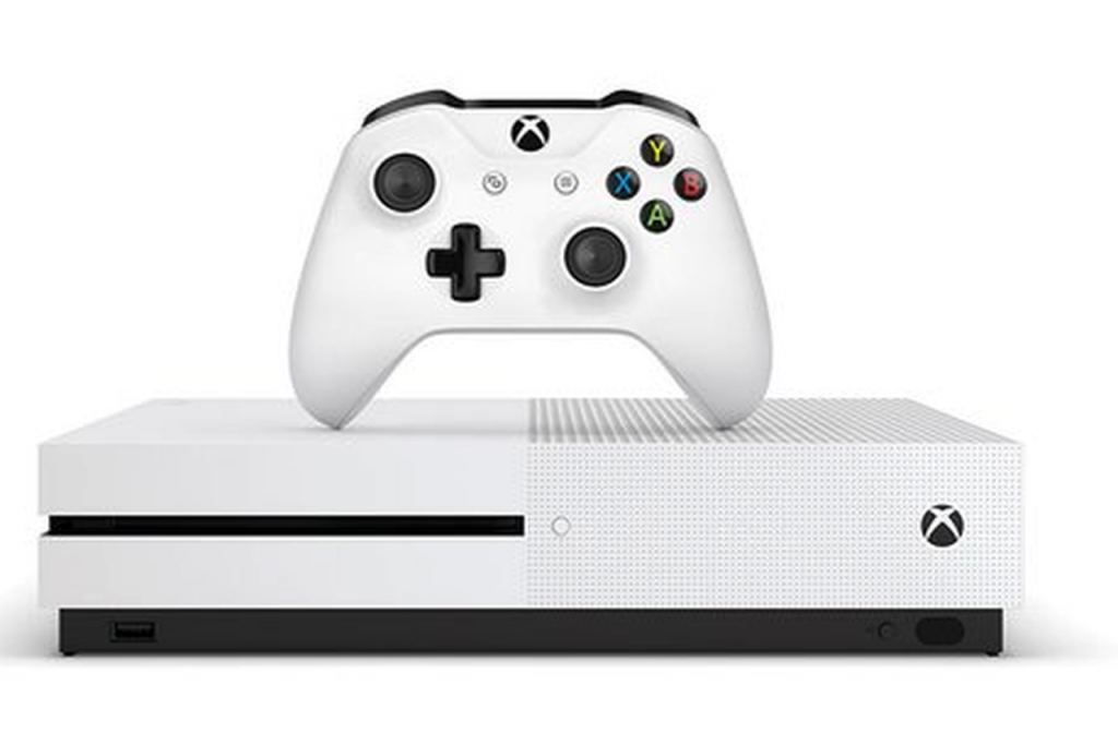 There it is. The smaller Xbox. The Xbox One S.