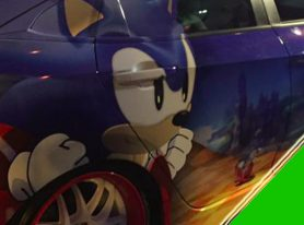 [SDCC 2016] A Look at San Diego's Sonic 25th Anniversary Party