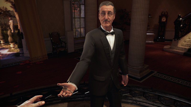 Alfred is always a sight for sore eyes after watching your parents die.