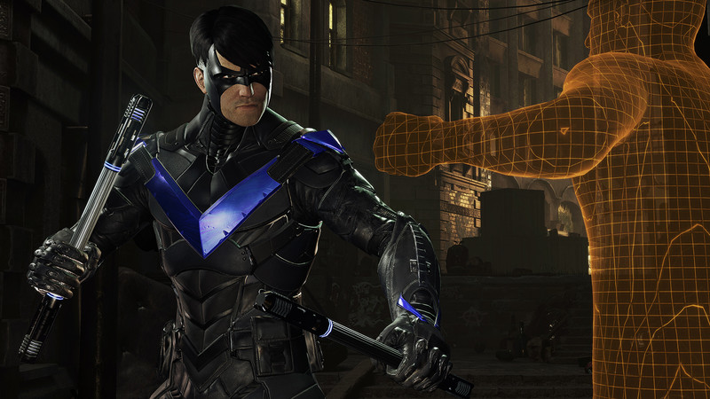 While it sucks that you're not a real part of it, it's pretty cool seeing Nightwing in action first-hand.