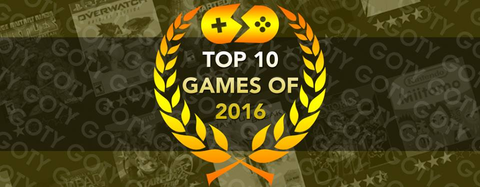 SmashPad's Top 10 Games of 2016