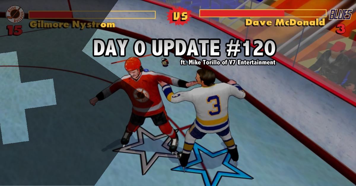 Day 0 Update #120 - Like Eddie Shore. And Toe Blake