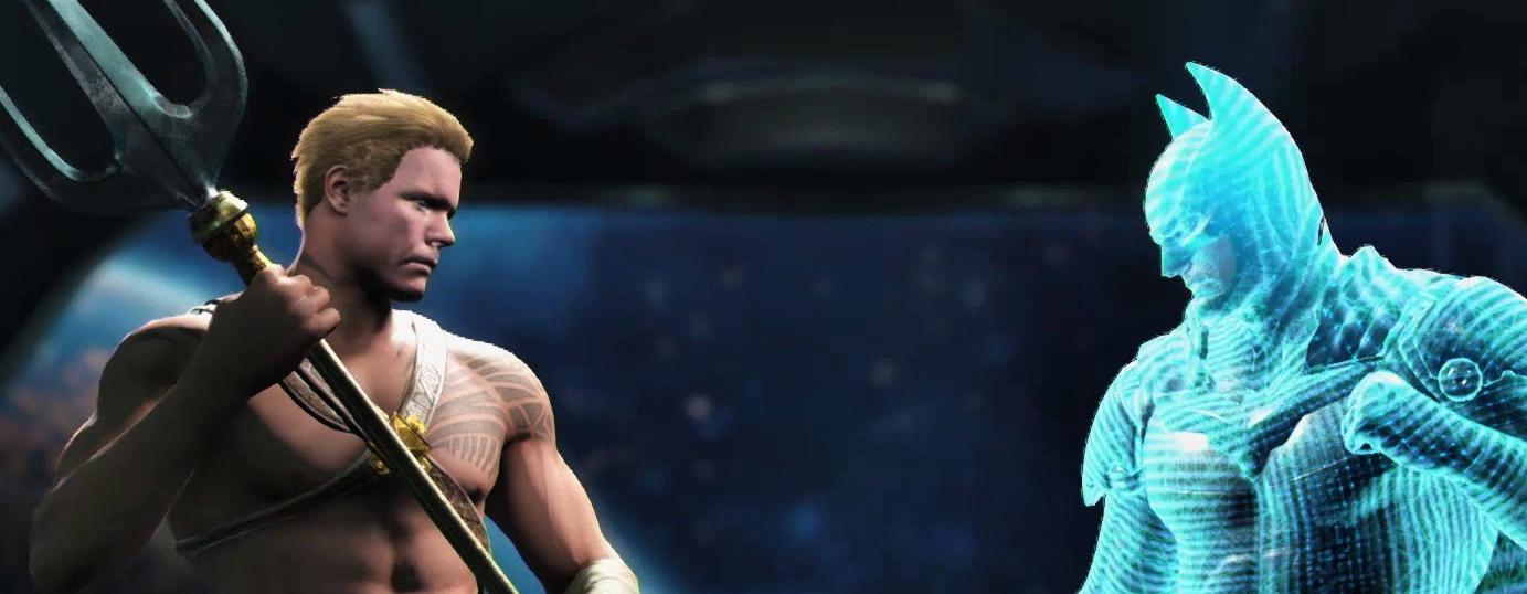 """Injustice 2"" Aquaman Hands-On"
